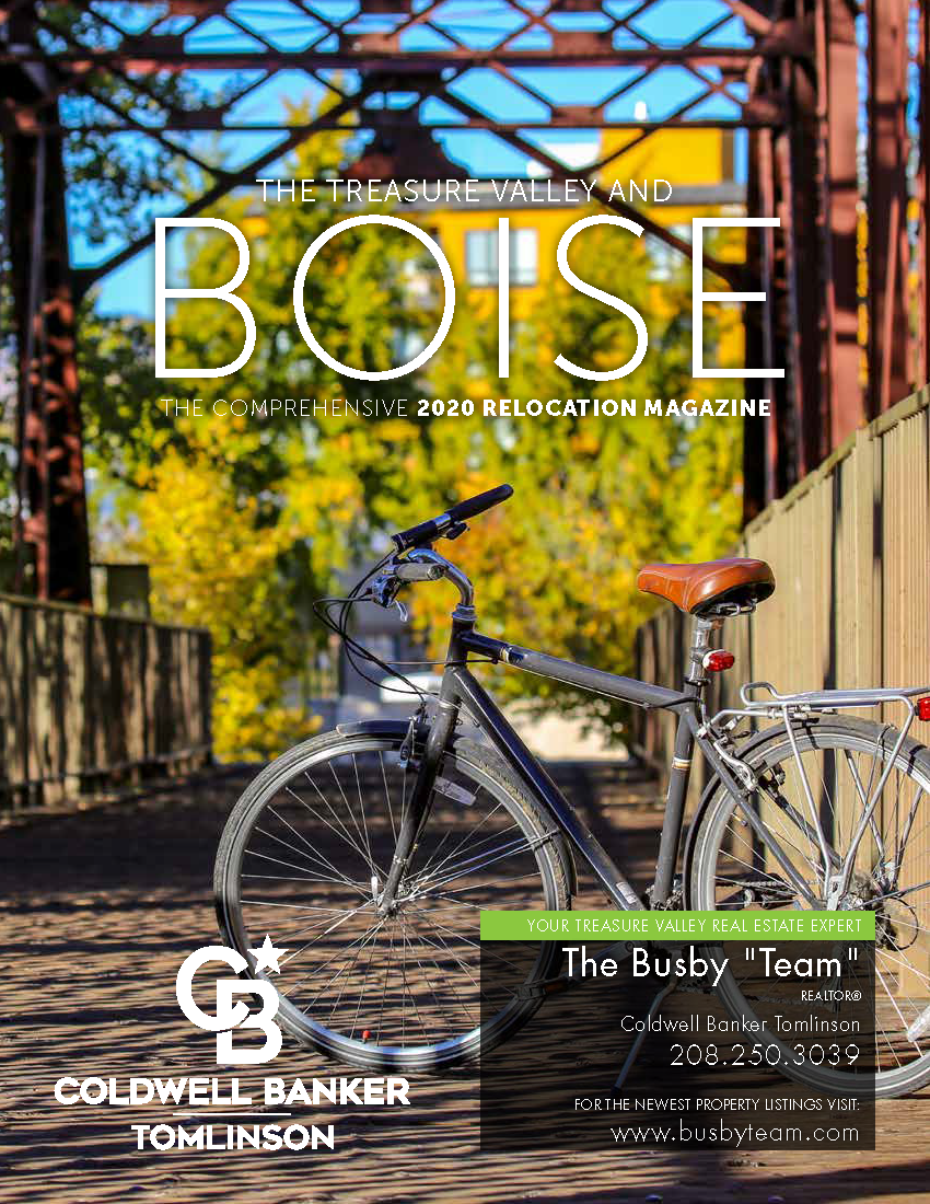 Coldwell Banker Tomlinson Group - 2020 Boise Relocation Magazine