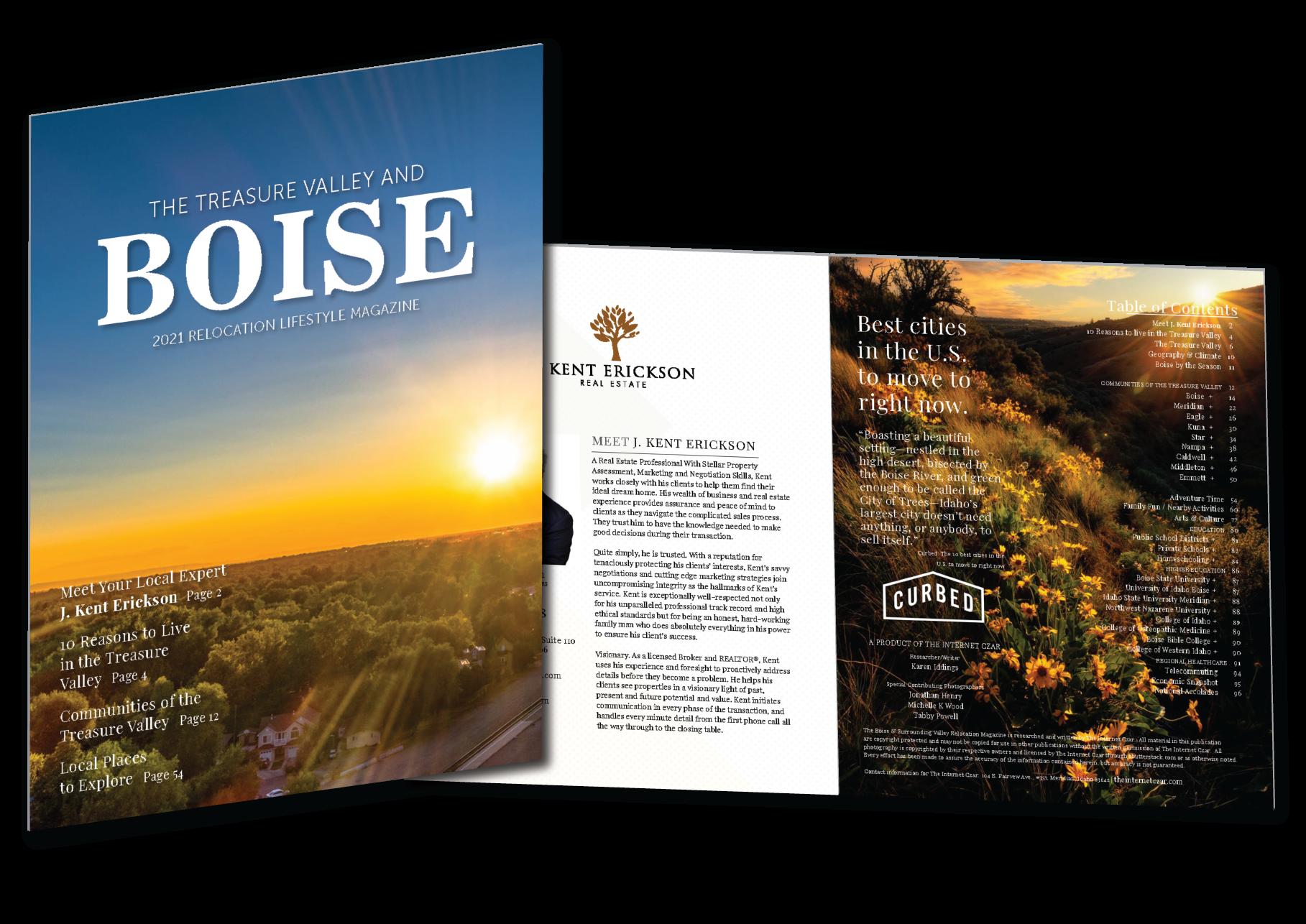 2021 Boise Relocation Lifestyle Magazine