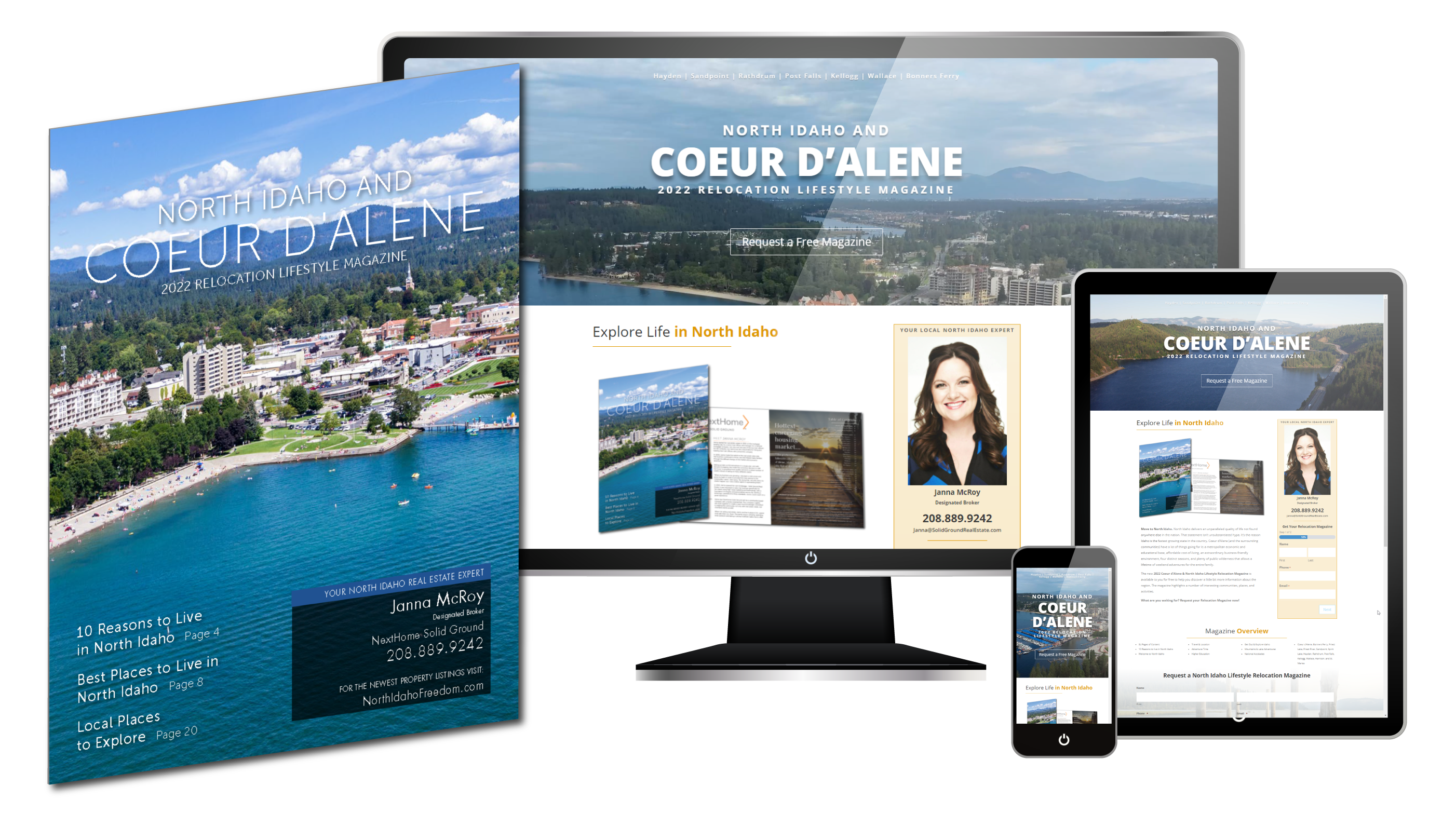 2022 Coeur d'Alene & North Idaho Lifestyle Relocation Products
