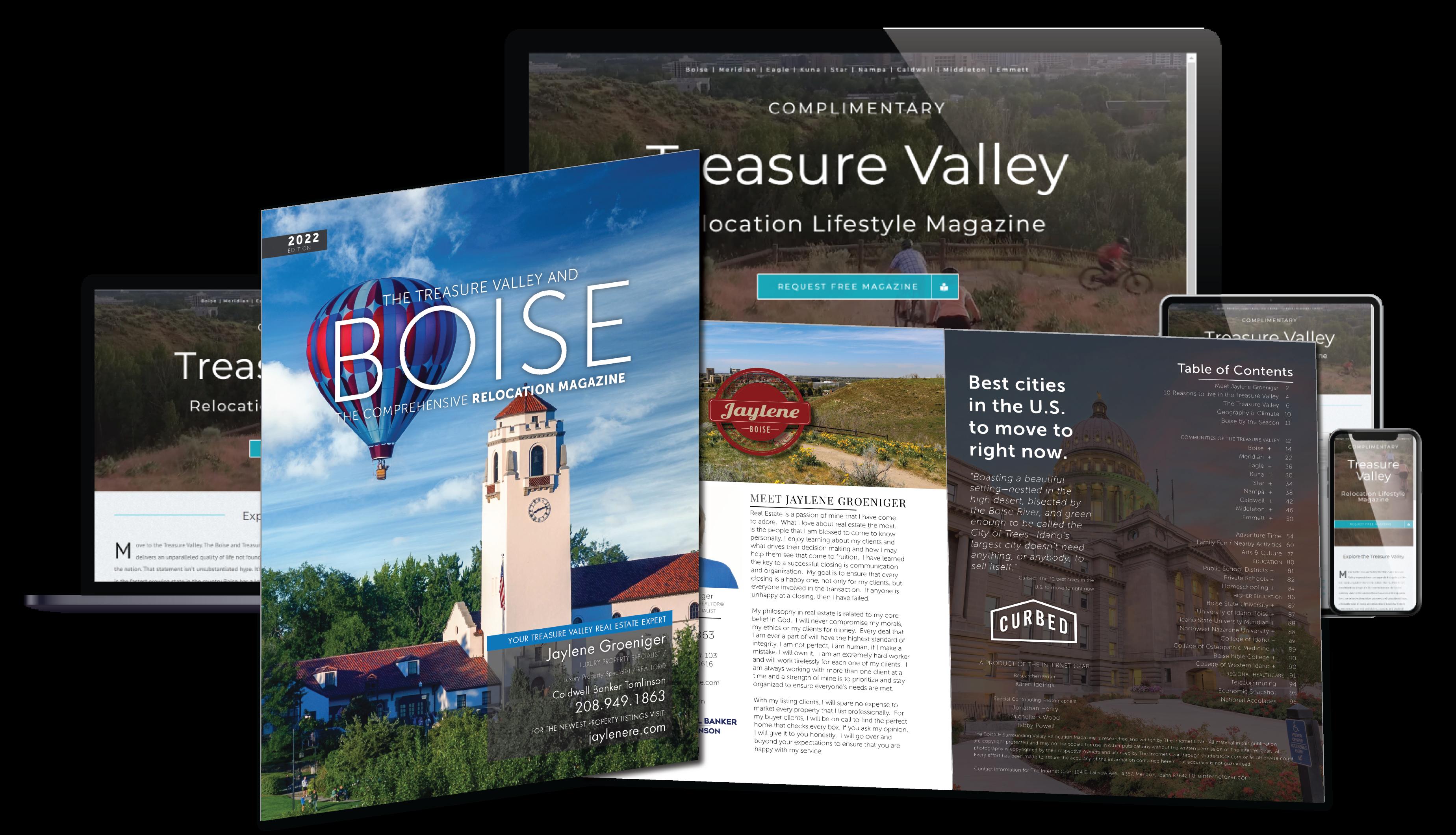 2022 Boise Relocation Lifestyle Magazine
